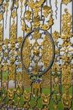 Χρυσή πύλη τεμαχίων, το παλάτι της Catherine, Tsarskoye Selo, ώθηση Στοκ Εικόνα