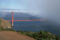 Χρυσή πύλη στο SAN Francsco, ασβέστιο Στοκ Εικόνα