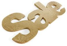 χρυσή πώληση Στοκ Εικόνα