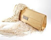 χρυσή σακούλα Στοκ φωτογραφία με δικαίωμα ελεύθερης χρήσης