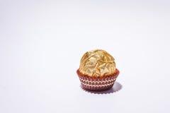 Χρυσή σοκολάτα Στοκ εικόνες με δικαίωμα ελεύθερης χρήσης
