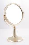 χρυσή στάση καθρεφτών Στοκ Εικόνα