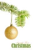 χρυσή συμβολοσειρά Χρι&sigm στοκ εικόνες