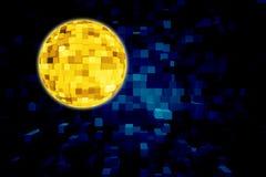 Χρυσή σφαίρα διανυσματική απεικόνιση