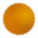 Χρυσή σφραγίδα - XL Στοκ Εικόνες
