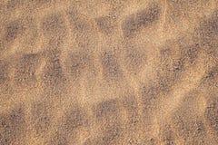 χρυσή σύσταση άμμου Στοκ Εικόνες