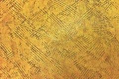 χρυσή σύσταση ανασκόπησης Εκλεκτής ποιότητας χρυσός Στοκ Εικόνες