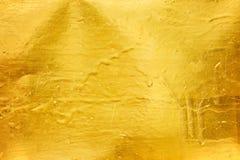 χρυσή σύσταση ανασκόπησης Στοκ εικόνα με δικαίωμα ελεύθερης χρήσης