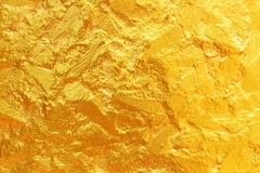χρυσή σύσταση για το υπόβαθρο και το σχέδιο Στοκ Εικόνες