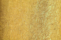 χρυσή σύσταση μεταξιού Στοκ φωτογραφία με δικαίωμα ελεύθερης χρήσης