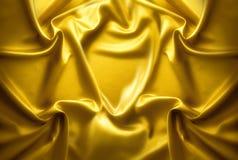 χρυσή σύσταση μπροκάρ Στοκ φωτογραφία με δικαίωμα ελεύθερης χρήσης