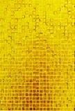 χρυσή σύσταση μωσαϊκών Στοκ φωτογραφία με δικαίωμα ελεύθερης χρήσης