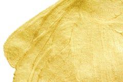 Χρυσή σύσταση σπινθηρίσματος Αφηρημένος χρυσός ακτινοβολεί υπόβαθρο Χρυσό μ Στοκ Φωτογραφία