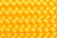 Χρυσή σύσταση σχοινιών Στοκ φωτογραφία με δικαίωμα ελεύθερης χρήσης