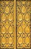 Χρυσή σύσταση υποβάθρου πυλών εκκλησιών Στοκ φωτογραφία με δικαίωμα ελεύθερης χρήσης