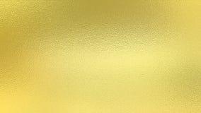 Χρυσή σύσταση φύλλων αλουμινίου Στοκ εικόνες με δικαίωμα ελεύθερης χρήσης