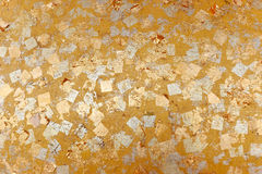 χρυσή σύσταση Στοκ Φωτογραφίες