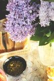 Χρυσή ώρα και πασχαλιά στοκ φωτογραφία με δικαίωμα ελεύθερης χρήσης