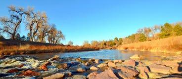 Χρυσή ώρα στον κολπίσκο μνημείων, Colorado Springs στοκ φωτογραφίες με δικαίωμα ελεύθερης χρήσης