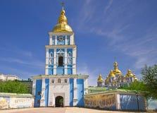 χρυσή mikhailovsky στέγη καθεδρικών ναών Στοκ φωτογραφία με δικαίωμα ελεύθερης χρήσης