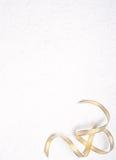 χρυσή mullberry κορδέλλα εγγράφ&omic Στοκ εικόνες με δικαίωμα ελεύθερης χρήσης