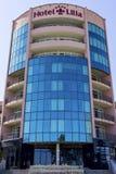 ΧΡΥΣΕΣ ΑΜΜΟΙ, ξενοδοχείο Lilia της ΒΟΥΛΓΑΡΙΑΣ στοκ εικόνες με δικαίωμα ελεύθερης χρήσης