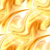 Χρυσοί αφηρημένοι στρόβιλοι - κομψό άνευ ραφής σχέδιο Στοκ εικόνες με δικαίωμα ελεύθερης χρήσης