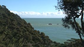 Χρυσοί βράχοι κόλπων, χρυσός κόλπος, Νέα Ζηλανδία φιλμ μικρού μήκους