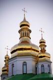 Χρυσοί θόλοι του Κίεβου Pechersk Lavra στοκ εικόνες με δικαίωμα ελεύθερης χρήσης