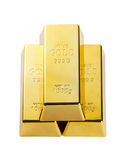 Χρυσοί φραγμοί Στοκ φωτογραφία με δικαίωμα ελεύθερης χρήσης