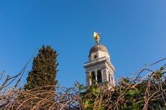 Χρυσός άγγελος στην εκκλησία Σάντα Μαρία Di Castello Udine Στοκ φωτογραφία με δικαίωμα ελεύθερης χρήσης
