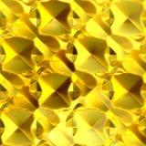 χρυσός άνευ ραφής φύλλων αλουμινίου απεικόνιση αποθεμάτων