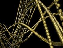 Χρυσός έλικας Στοκ Φωτογραφία