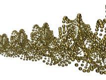 Χρυσός έλικας Στοκ Φωτογραφίες