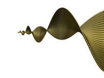 Χρυσός έλικας Στοκ Εικόνα