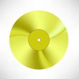 Χρυσός δίσκος Στοκ φωτογραφία με δικαίωμα ελεύθερης χρήσης