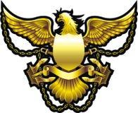 Χρυσός αετός διανυσματική απεικόνιση