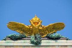 Χρυσός αετός Neue Burg στη Βιέννη Στοκ Φωτογραφία