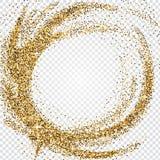 Χρυσός ακτινοβολήστε αφηρημένο υπόβαθρο Tinsel λαμπρό σκηνικό Luxur απεικόνιση αποθεμάτων