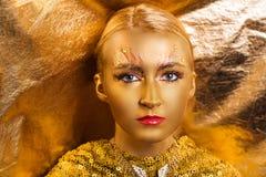 Χρυσός αποτελέστε Στοκ εικόνες με δικαίωμα ελεύθερης χρήσης