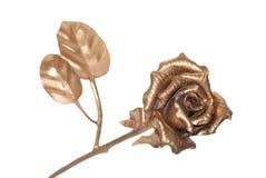 χρυσός αυξήθηκε Στοκ Φωτογραφία