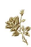 χρυσός αυξήθηκε Στοκ Εικόνα