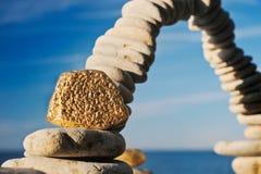 χρυσός αψίδων Στοκ φωτογραφία με δικαίωμα ελεύθερης χρήσης
