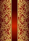 χρυσός βασιλικός καρτών Στοκ φωτογραφία με δικαίωμα ελεύθερης χρήσης