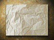 χρυσός βράχος εγγράφου Στοκ Εικόνες