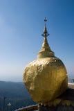 χρυσός βράχος Στοκ Φωτογραφία