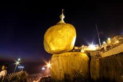 Χρυσός βράχος Kyaiktiyo, το Μιανμάρ Στοκ φωτογραφία με δικαίωμα ελεύθερης χρήσης