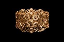 χρυσός βραχιολιών καθαρός Στοκ εικόνα με δικαίωμα ελεύθερης χρήσης