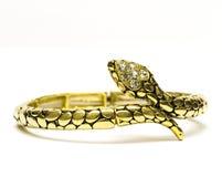 χρυσός βραχιολιών που απ&o Στοκ εικόνες με δικαίωμα ελεύθερης χρήσης