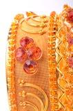 χρυσός βραχιολιών Στοκ Εικόνα